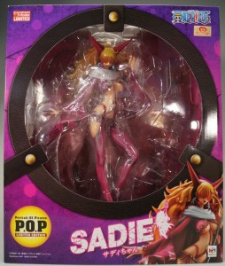 One Piece Sadie POP Box MegaHouse Portrait of Pirates Limited