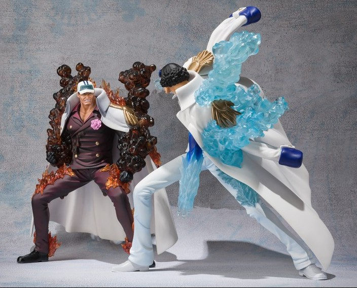 One Piece Figuarts Zero Aokiji  amp  Akainu Battle Ver  Figure Photos    Aokiji Vs Akainu
