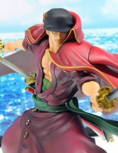 One Piece MegaHouse Portrait of Pirates Roronoa Zoro POP Edition Z Close-Up