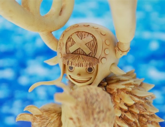 One Piece Portrait of Pirates Horn Point Chopper Figure Prototype Close-Up