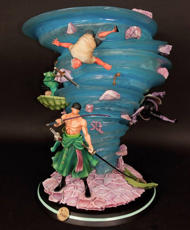 Roronoa Zoro One Piece Fishman Island Statue by Tsume