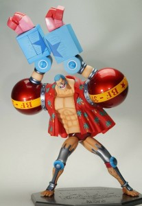 MegaHouse P.O.P. Franky MAXIMUM Doing SUPER Pose