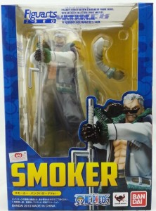 One Piece Figuarts Zero Smoker Punk Hazard Ver Figure Box
