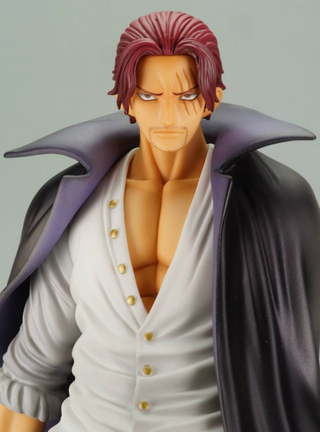 One Piece P.O.P. Red-Haired Shanks Figure 2013 Close-Up