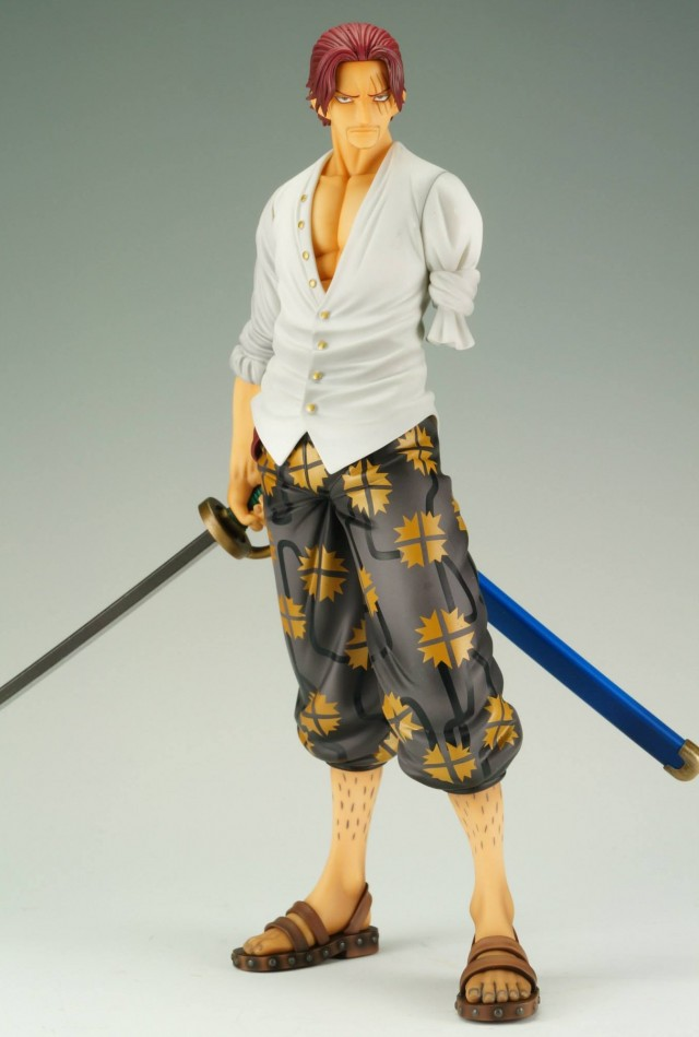 One Piece POP 2013 Shanks Figure without Cloak MegaHouse
