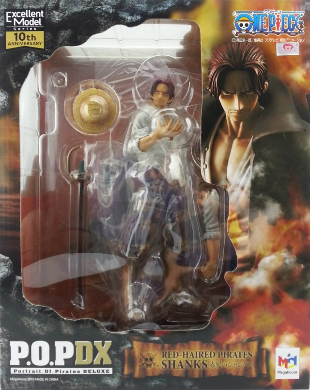 One Piece POP Shanks Box MegaHouse 2013