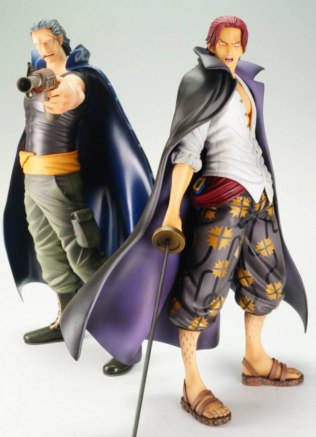 One Piece Shanks and Benn Beckman Portrait of Pirates Figures 2013