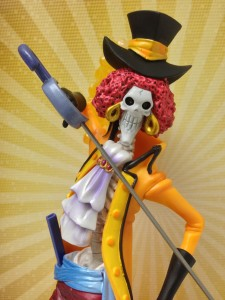 One Piece Film Z Brook Figuarts Zero Figure Head Close-Up