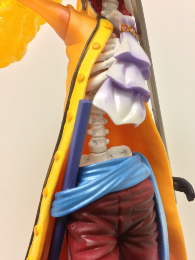 Close-Up of One Piece Figuarts Zero Film Z Brook Torso and Bones