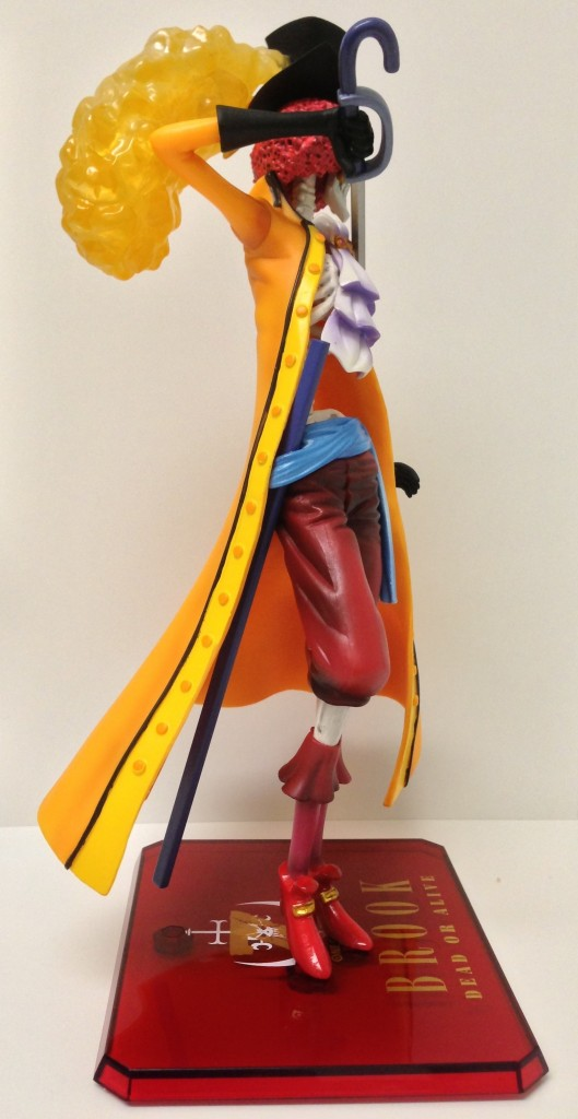 Side of Bandai Web Tamashii Exclusive One Piece Z Brook Figure