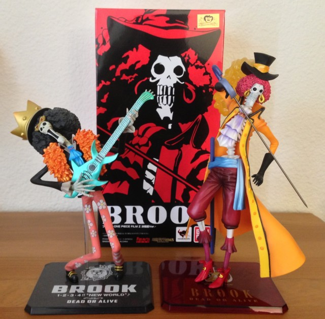 Bandai Figuarts Zero Brook Figures Comparison Film Z Movie vs. New World Ver