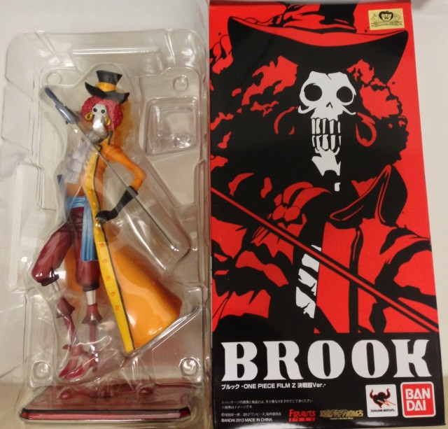 One Piece Film Z Bandai Figuarts Zero Brook Figure Packaging
