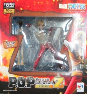 One Piece Portrait of Pirates Sanji Z Edition Figure Box