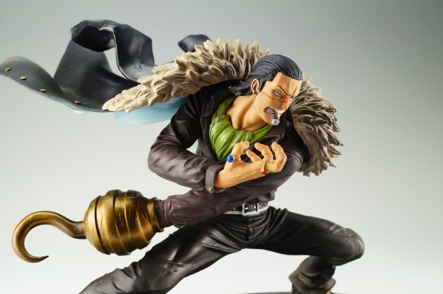 One Piece SCultures Series 2 Crocodile Mr. 0 Figure Close-Up