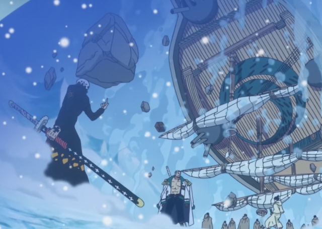 Trafalgar Law Battle Ver Lifting War Ship Using Room