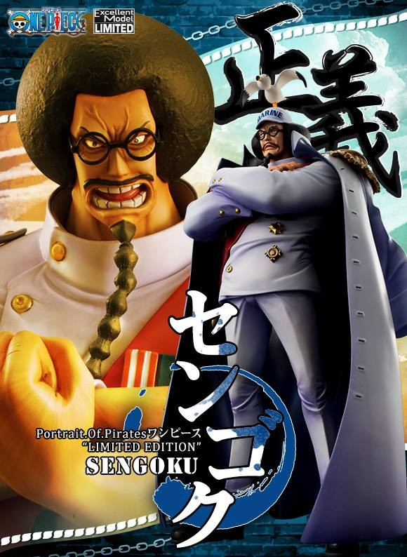 MegaHouse One Piece P.O.P. Sengoku Figure Promotional Poster