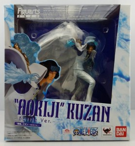 One Piece Figuarts Zero Aokiji Kuzan Battle Ver Box
