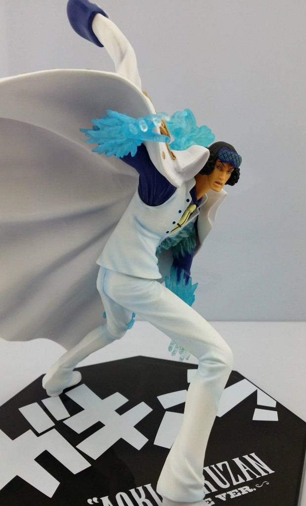 One Piece FiguartsZERO Aokiji Kuzan Battle Version Released