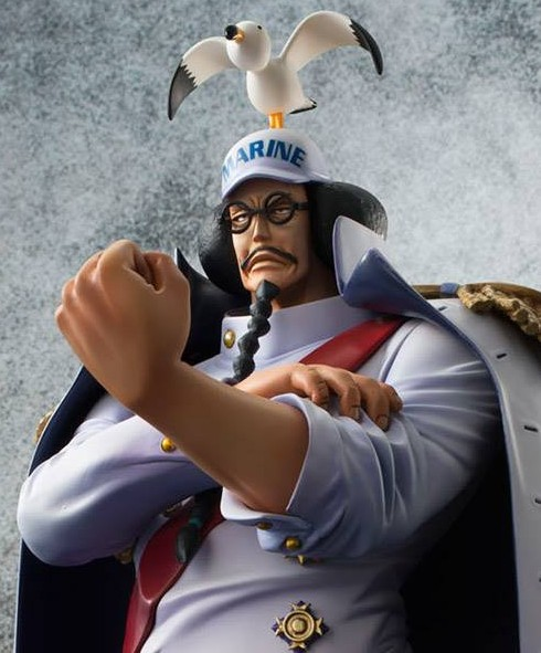One Piece P.O.P. Fleet Admiral Sengoku Figure MegaHouse 2014