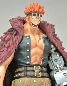 Banpresto One Piece 2014 Grandline Men Timeskip Eustass Kid Captain Kid Figure