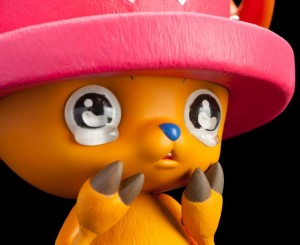 Banpresto One Piece Colosseum Tony Tony Chopper SCultures Figure Crying Close-Up