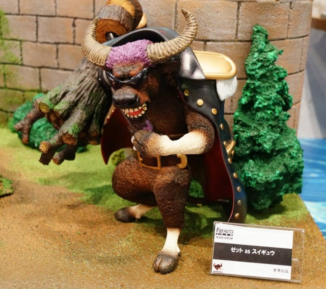 Figuarts Zero One Piece Z Artist Special Film Z Zetto as a Bull Bandai Figure