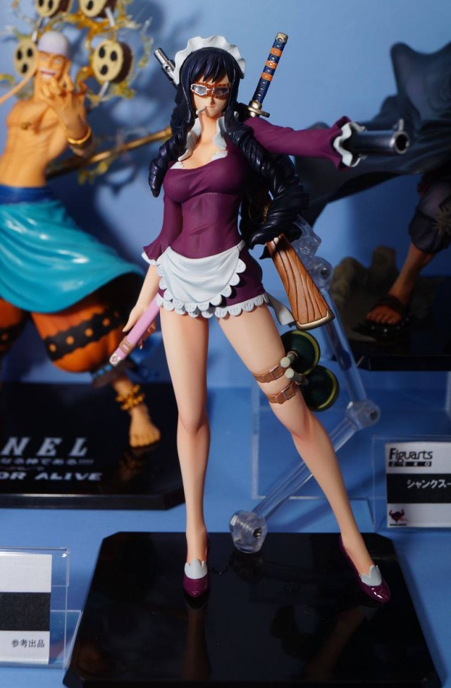Jump Festa 2014 Bandai One Piece Baby-5 Figuarts Zero Figure Photos