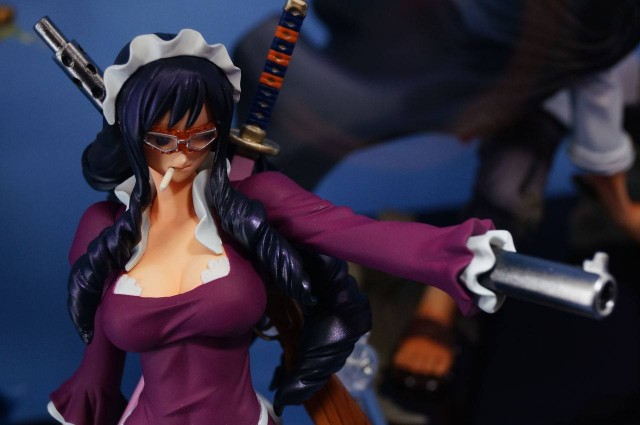 One Piece Figuarts Zero Baby-5 Figure with Weapon Arm at 2014 Jump Festa