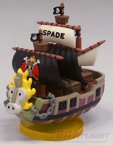 One Piece History of Ace World Collectable Figures Spade Pirates Ship WCF 2014