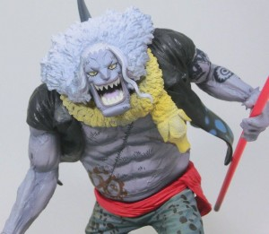 Banpresto Colosseum Hody Jones Figure Close-Up