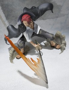 One Piece Figuarts Zero 2014 Shanks Battle Version Action Figure