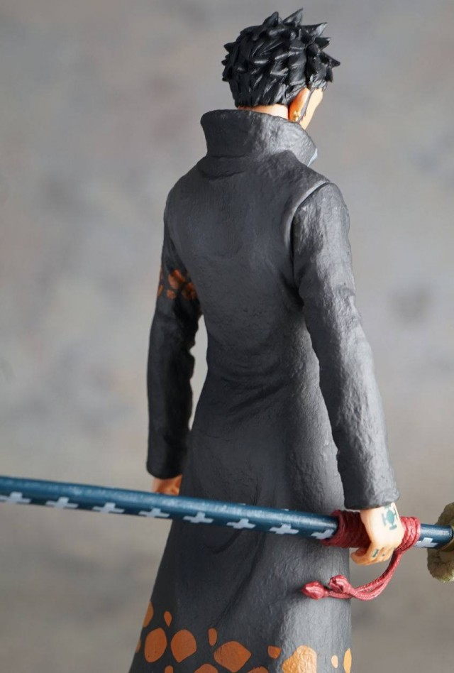 Back of Punk Hazard Trafalagar Law One Piece Grandline Men Series Action Figure