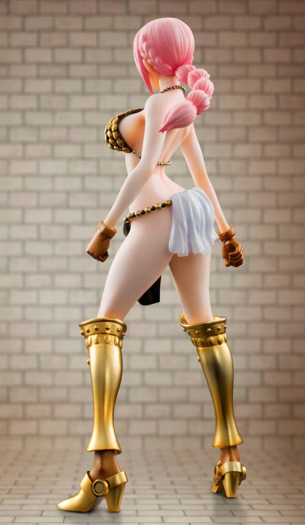 Dressrosa Rebecca One Piece Portrait of Pirates 2014 Figure MegaHouse