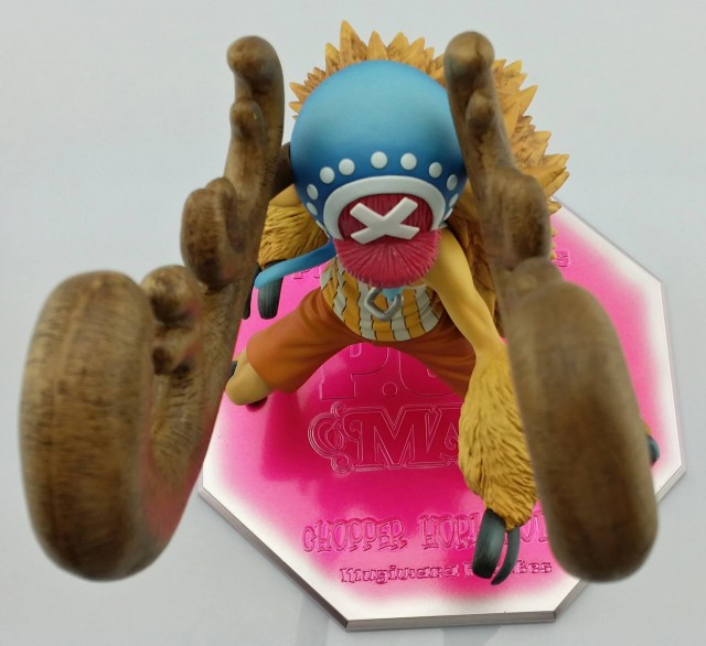 One Piece Chopper Horn Point Portrait of Pirates Figure Overhead View