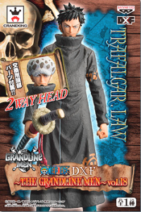 One Piece DXF Trafalgar Law Grandline Men Vol. 18 Box