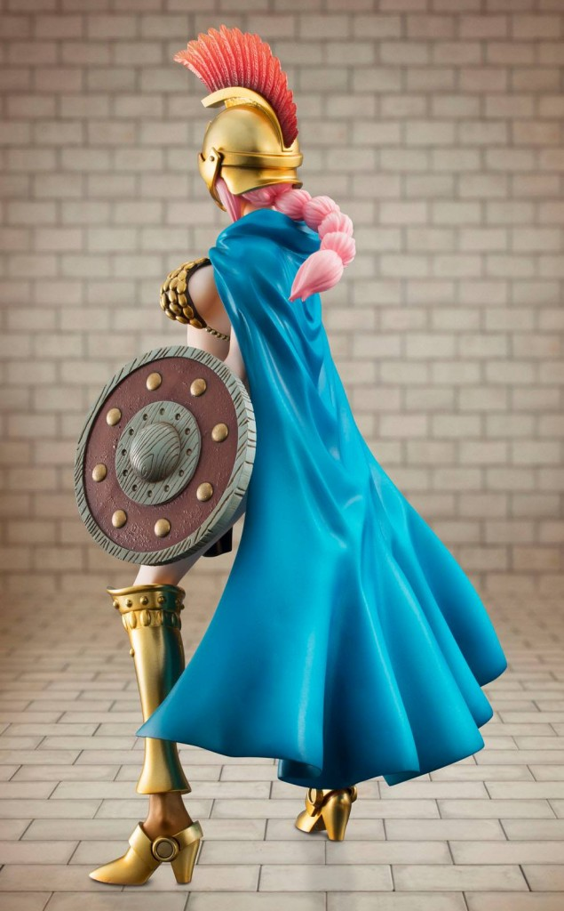 One Piece Dressrosa Rebecca Portait of Pirates Figure Back
