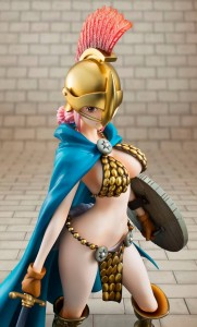 One Piece P.O.P. Sailing Again Rebecca Statue Close-Up