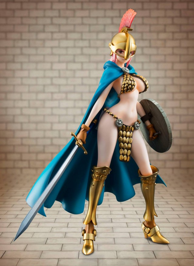 One Piece POP Gladiator Rebecca Figure MegaHouse 2014
