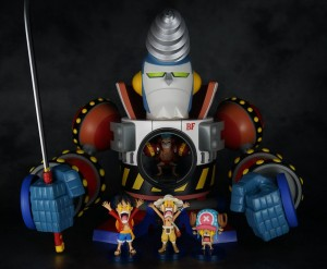 One Piece WCF GIGA Franky Shogun Figure Released