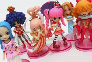 Banpresto One Piece WCF Hana Figures Series Vivi Rouge Ivankov Perona