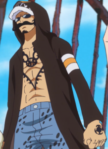 One Piece Trafalgar Law Dress Rosa Clothes Anime Screenshot