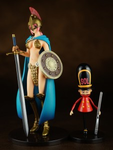Valiant Material Rebecca & Tin Soldier One Piece Dress Rosa Figures