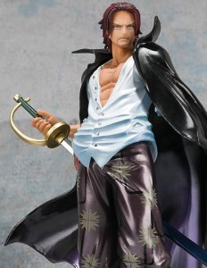 Bandai One Piece Figuarts Zero Shanks Special Color Version Figure