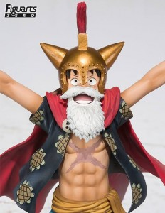 Bandai Figuarts Zero One Piece Gladiator Lucy Figure Close-Up