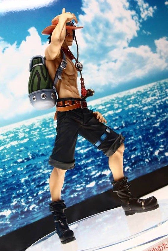 Fire Fist Ace One Piece Portrait of Pirates 15th Anniversary Limited Figure
