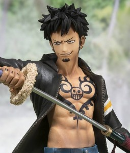 One Piece Figuarts Zero Dressrosa Law Figure Without Hat