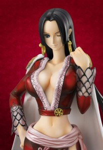 One Piece POP Boa Hancock Red Dress Figure Reissue