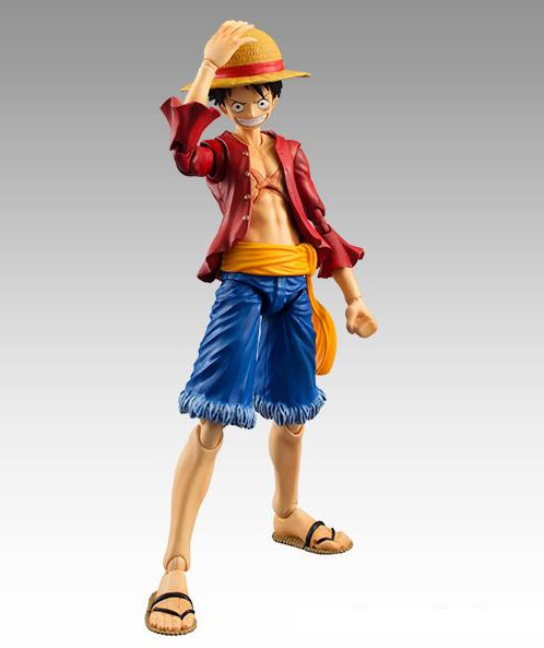 MegaHouse Variable Action Heroes One Piece Monkey D. Luffy Figure with Straw Hat