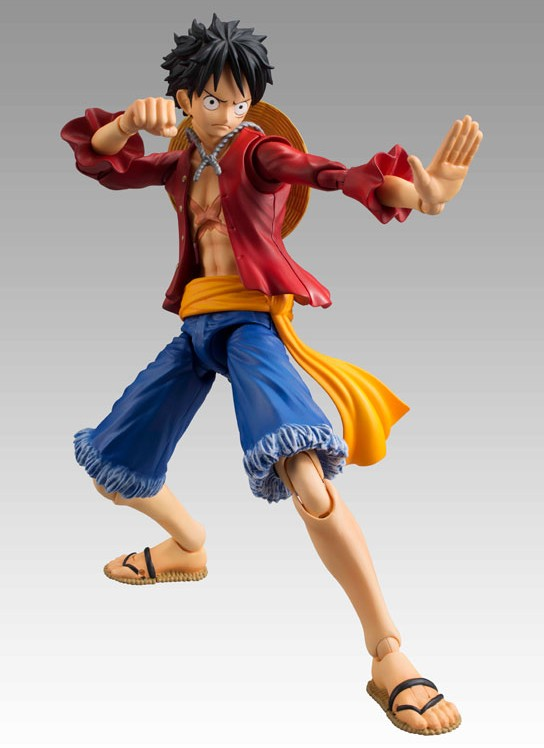 One Piece Variable Action Heroes Monkey D Luffy Figure Pre