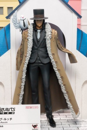 One Piece Figuarts Zero Lucci Figure Tamashii Nations 2015